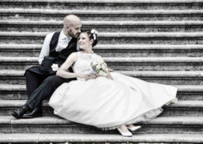 gradinata per matrimonio