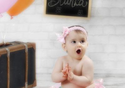 foto bambina con torta